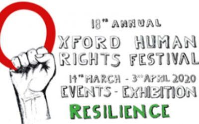 18th Oxford Human Rights Festival:  Exploring Resilience