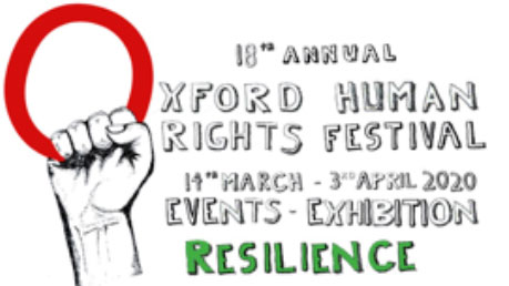 Logo: 18th Oxford Human Rights Festival