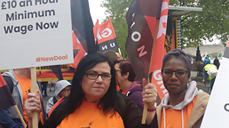 Union Women Fighting Low Pay and Job Insecurity
