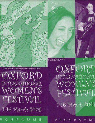 OIWF 2003