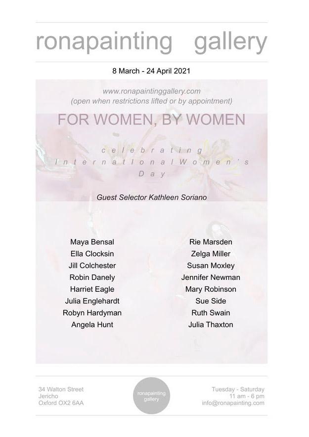 For Women By Women Flyer