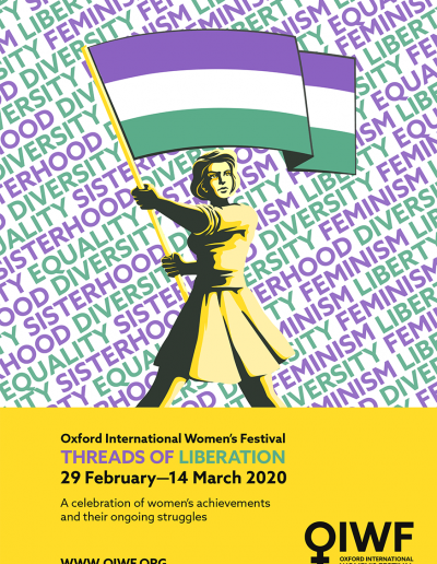 Cover for the OIWF festival programme 2020