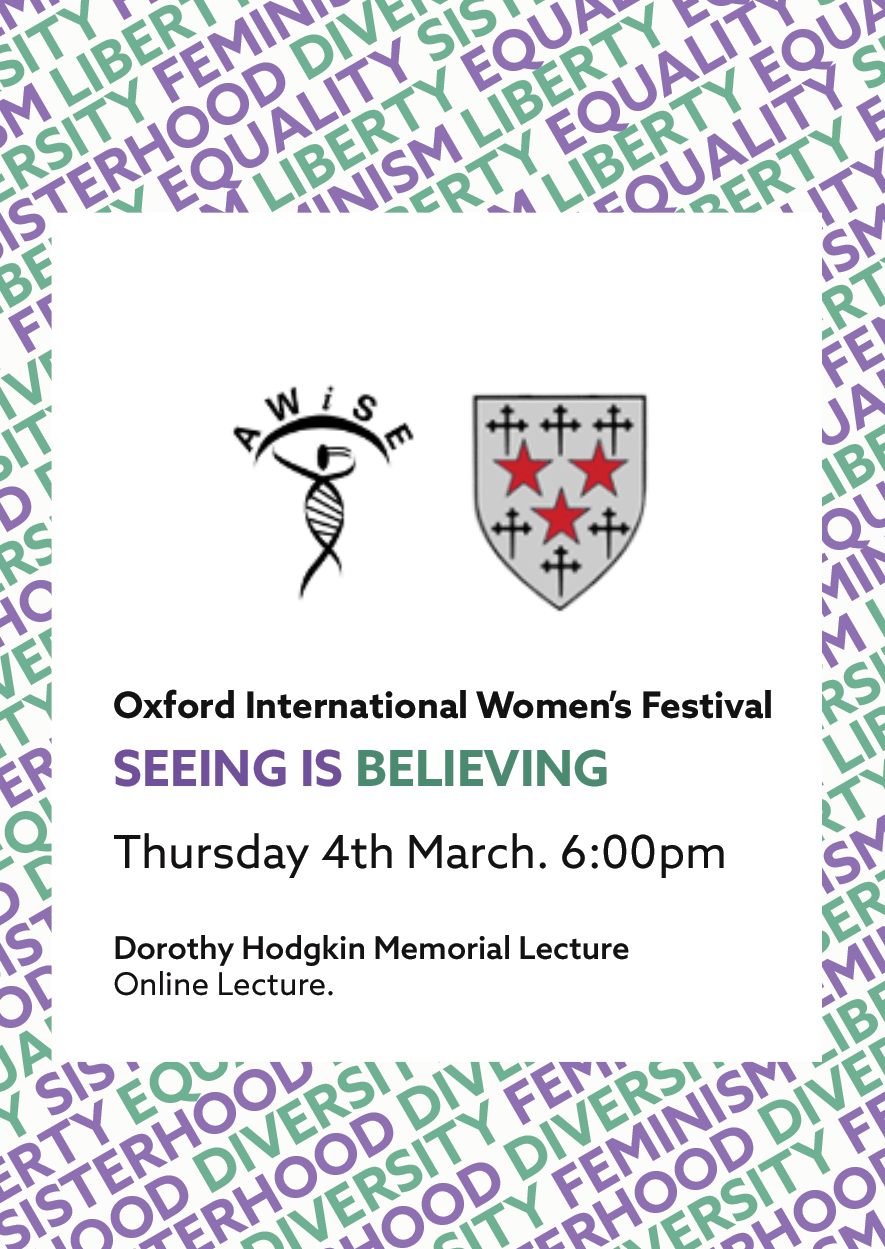 Seeing is believing event flyer